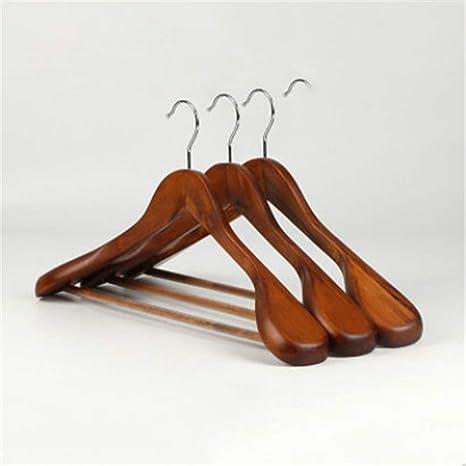 Percha percha de madera traje adulto percha de madera ...