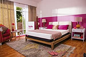 """Mattress by tulo, Pick your Comfort Level, Medium Queen Size 10"""" Bed in a Box, Great for Sleep and Balance Between Soft and Firm"""