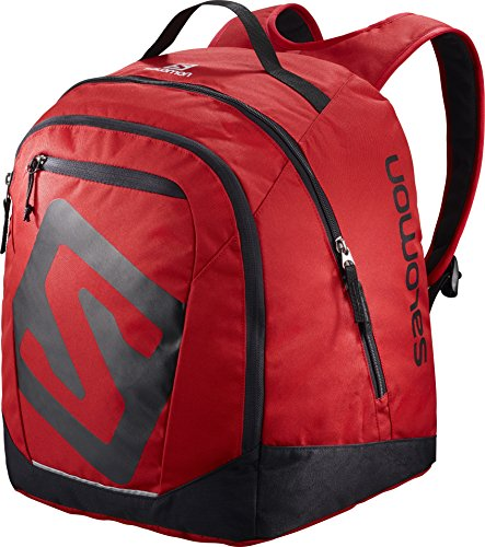 Salomon Gear - Salomon Unisex Original Gear Backpack, Barbados Cherry, Black, OS