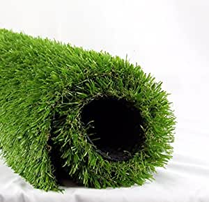 ALTRUISTIC 4FT x 7FT LITA Realistic Deluxe Artificial Grass Synthetic Thick Lawn Turf Carpet Perfect Indoor/Outdoor Landscape, (28 Square ft), Green