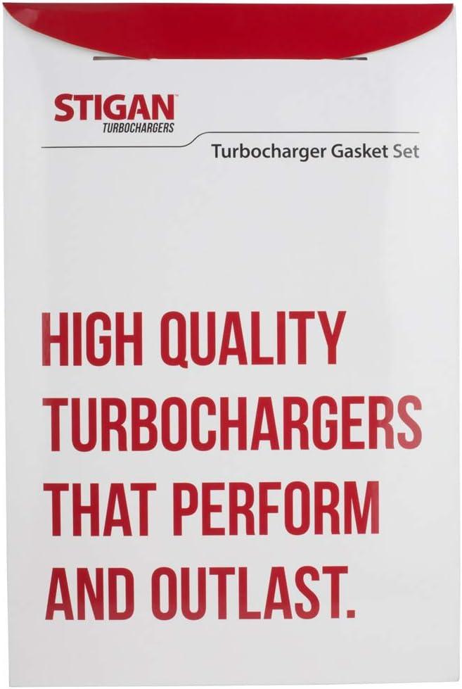 For Isuzu NPR /& Chevy Tiltmaster Stigan Turbo Turbocharger Gasket Set Stigan 844-0025 New