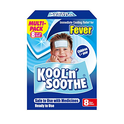 Kool N Soothe Kool 'n' Soothe Cooling Strip Sachets Kids Multipack 8 by Kool 'n' Soothe