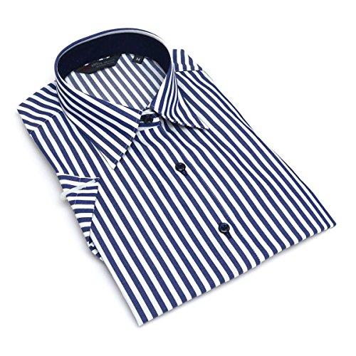 マーベルエミュレーション貝殻ブリックハウス シャツ ブラウス 半袖 形態安定 レギュラー衿 レディース ウィメンズ BL018100AA44R10-14