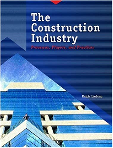 The Construction Industry: Processes, Players, and Practices
