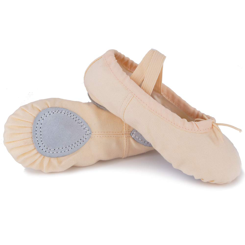 Debug Girls Canvas Ballet Shoes//Slippers BSC-1001 Toddler//Little Kids