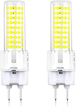 Warehouse and Garden4-Pack not Dimmable Replace Gold Halogen Lamp for Home 15W G12 Base Corn Light Bulb Sconce Energy Saving Bulb Chandeliers Office AC//DC85-265V LED 3000K Warm White,1800LM
