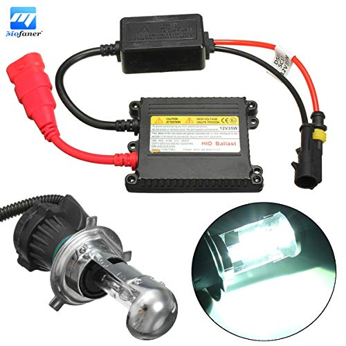 Transport-Accessories - Motorcycle Headlight Xenon H4 HI/LO Bulb 6000K 35W Ballast Conversion - Ballast Replacment