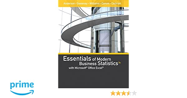 Essentials of modern business statistics with microsoft office excel essentials of modern business statistics with microsoft office excel with xlstat education edition printed access card mindtap course list david r fandeluxe Images