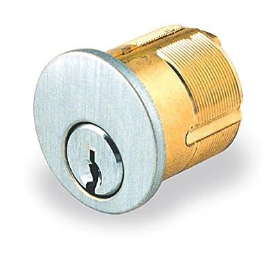 Mortise Key Lock Cylinder for Detex Exit Alarm , Schlage C Keyway MC65