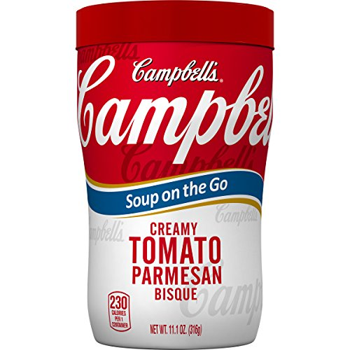 Campbell's Soup on the Go, Creamy Tomato Parmesan Bisque, 11.1 Ounce (Pack of (Tomato Bisque Ingredients)