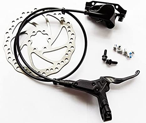 Front Hydraulic Post Mount Black Promax Solve Disc Brake and Lever