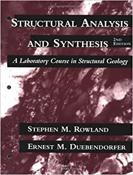 Descargar La Libreria Torrent Structural Analysis And Synthesis: Laboratory Course In Structured Geology Donde Epub
