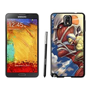 New Personalized Custom Designed For Samsung Galaxy Note 3 N900A N900V N900P N900T Phone Case For Attack on Titan Phone Case Cover