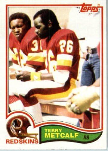 1982 Topps Football Card #514 Terry Metcalf