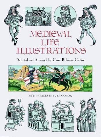 Medieval Life Illustrations (Dover Pictorial Archives)