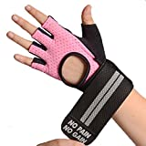 Best Gold's Gym Gloves Gyms - Weight Lifting Glove Fitness Anti-skid Protective Sports Gloves Review