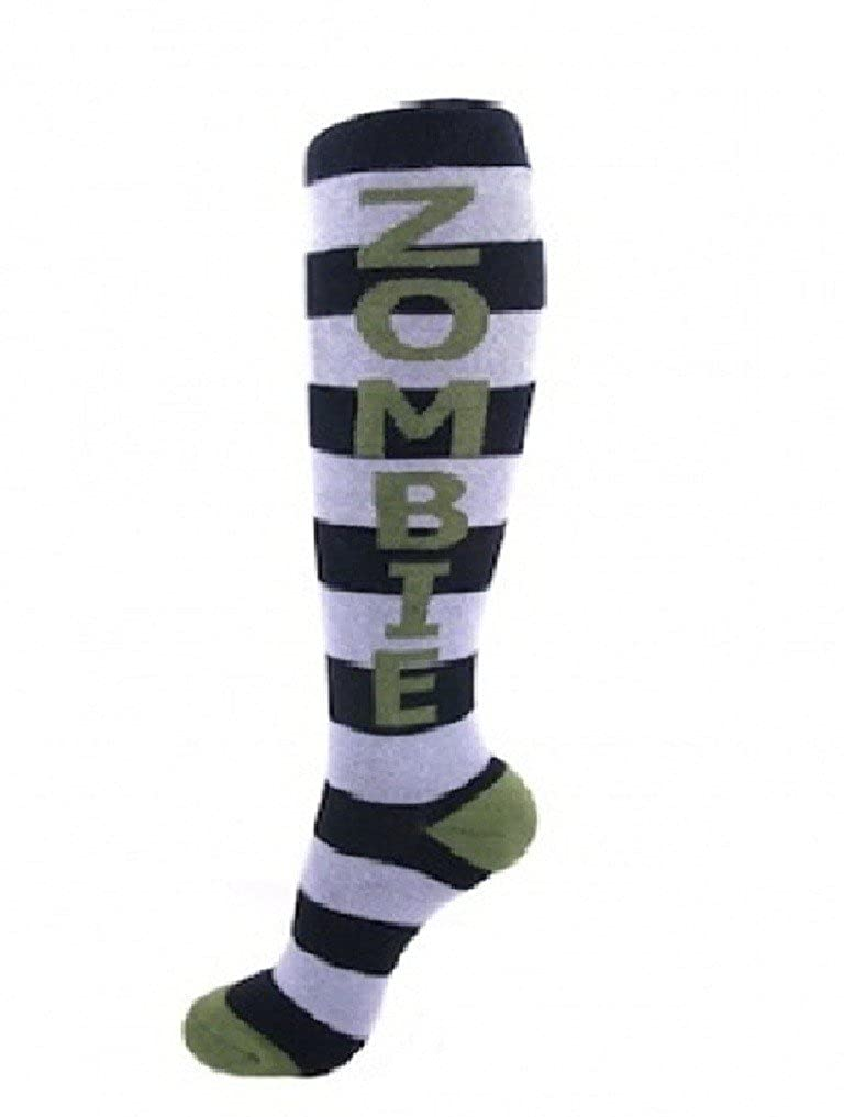 Urban Word Funny Unisex Knee High Socks-Zombie Gumball Poodle