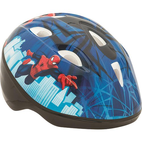 Spider Man Child Helmet (Bell Sports True Fit Toddler Helmet SpiderMan)