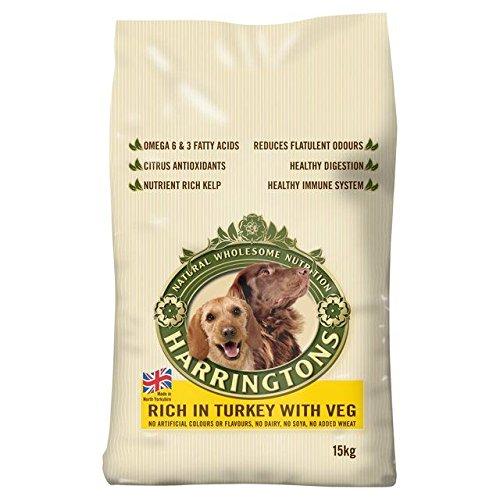 Harringtons Dog Complete Turkey & Vegetable 15kg (PACK OF 2)