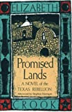 Promised Lands: A Novel of the Texas Rebellion (Southwest Life and Letters)