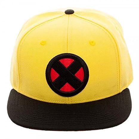 f29184a36e34d Amazon.com  X-Men Wolverine Yellow Snapback Baseball Hat  Toys   Games
