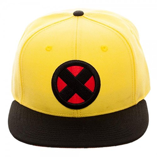 X-Men Wolverine Yellow Snapback Baseball Hat -