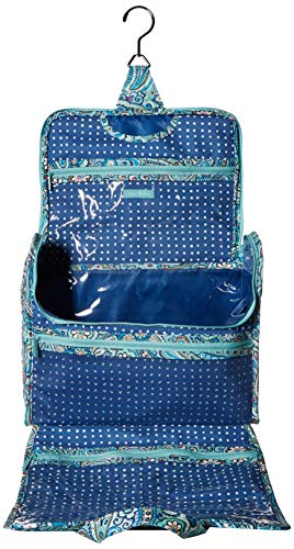 51E99jOmxpL - Vera Bradley womens Iconic Grand Hanging Organizer, Signature Cotton, Daisy Dot Paisley, One Size