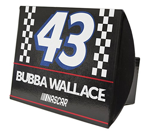 Bubba Wallace #43 Metal Trailer Hitch Cover