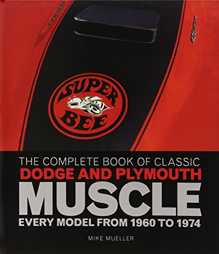 The Complete Book of Classic Dodge and Plymouth Muscle: Every Model from 1960 to 1974 (Complete Book Series)