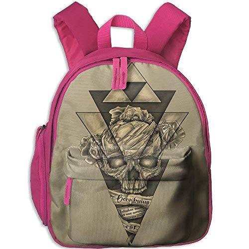 Ikejsne Funny Schoolbag Backpack Amazing Skull Toddler for sale  Delivered anywhere in USA