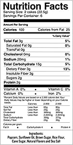 Skinnypop Popcorn Cakes Maple Brown Sugar Popcorn Cakes 47oz Pack Of 12 Gluten Free Popcorn Cakes Non-gmo No Artificial Ingredients Healthy Snack from Amplify Snack Brands