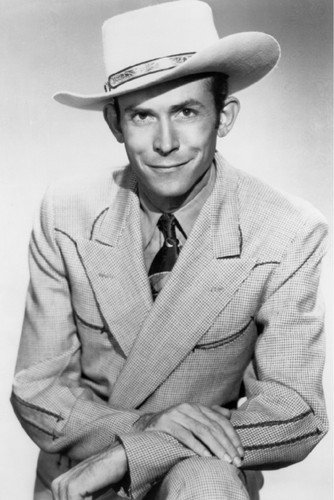 Hank Williams Country Music legend smiling in stetson 24x36 Poster from Silverscreen