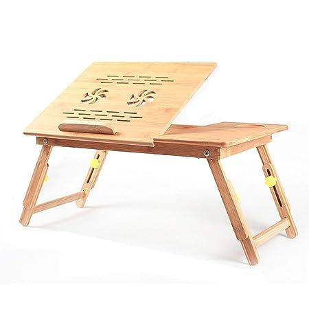 Mesa de la cama / mesa plegable plegable para patas portátil con ...