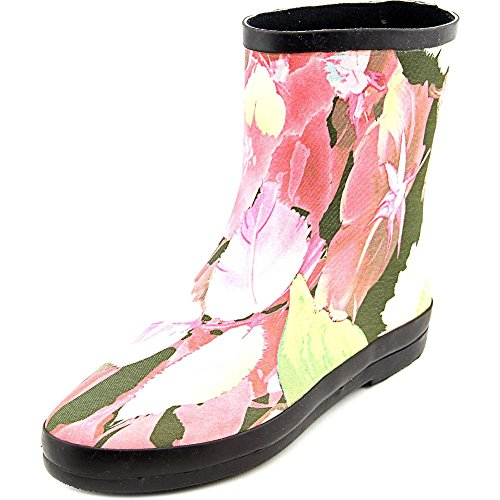 Chinese Laundry Womens Sweet (Dirty Laundry by Chinese Laundry Women's Sweet Child Rain Boot, Pink/Multi Floral,  7 M US)