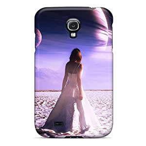 New QTPpg3333TScXM Light In Dream Of Saturn Skin Case Cover Shatterproof Case For Galaxy S4