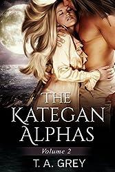 The Kategan Alphas Vol. 2 (paranormal romance) (Books 4-6): Eternal Temptation, Dark Seduction, Tempting Whispers (The Kategan Alphas Boxset)