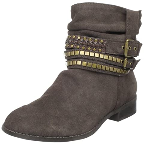DV by Dolce Vita Women's Bronco Boot,Bronze,6 M US (Dv Ankle Boots)