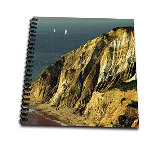 3dRose db_56089_1 Marthas Vineyard Massachusetts-Drawing Book, 8 by 8-Inch