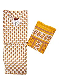 Girls Suits Cotton Printed