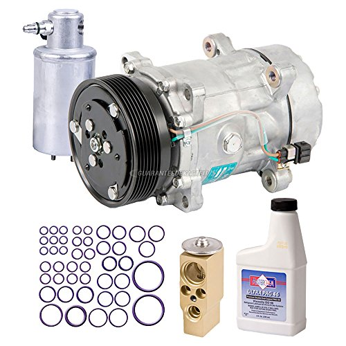 New Genuine OEM AC Compressor & Clutch + A/C Repair Kit For VW Eurovan - BuyAutoParts 60-84680RN New