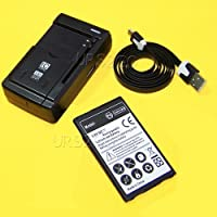 High Power LG K10 Battery kit [1Battery + 1Charger] 2700mAh Spare Rechargeable Li-ion Battery Portable USB Charger with Cable for AT&T LG K10 K425 Phone