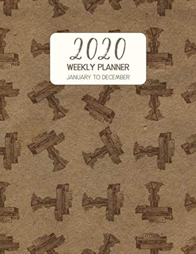 2020 Weekly Planner January to December: Dated Diary With To Do Notes & Inspirational Quotes - Zither Table (Vintage Music Calendar Planners)
