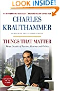 #1: Things That Matter: Three Decades of Passions, Pastimes and Politics