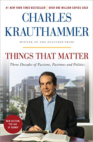 Things That Matter: Three Decades of Passions, Pastimes and Politics cover