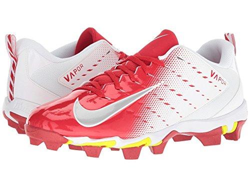 [NIKE(ナイキ)] メンズランニングシューズ?スニーカー?靴 Vapor Shark 3 White/Metallic Silver/University Red 13 (31cm) D - Medium