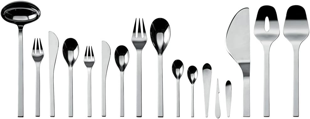 FM06//8 Set of 6 Alessi Colombina Coffee Spoon