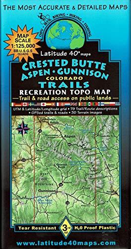 (Crested Butte | Aspen | Gunnison Trails Recreation Topo Map)