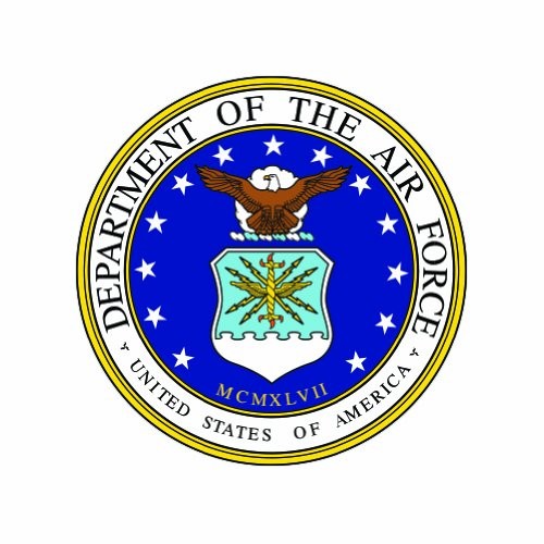 Department Force Air Seal - Department of the Air Force Seal - Color Sticker - Decal - Die Cut