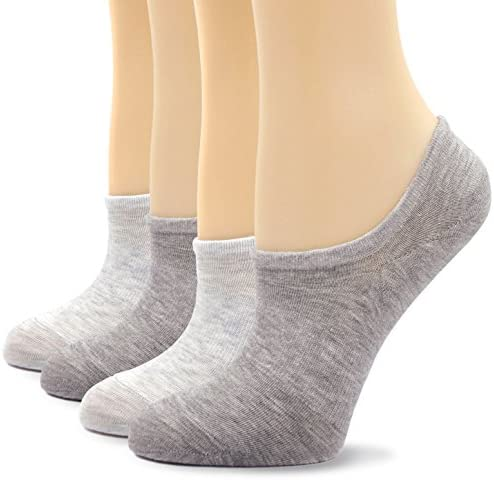 Details about  /Men/'s Women/'s Ladies Girls Invisible Socks Trainer Liners With Elasticated Grip