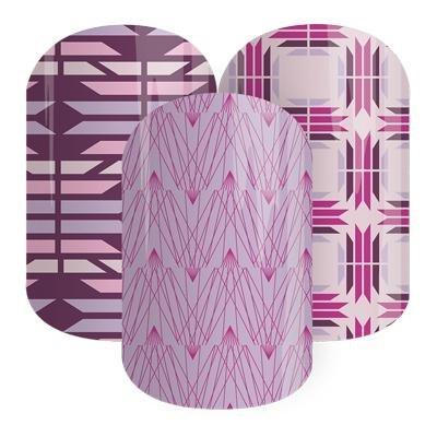Jamberry Nails Half Sheet Nail Wrap Graphics Design (Desert At Dusk)